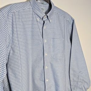 L.L. Bean Plaid Longsleeve Button Up Traditional